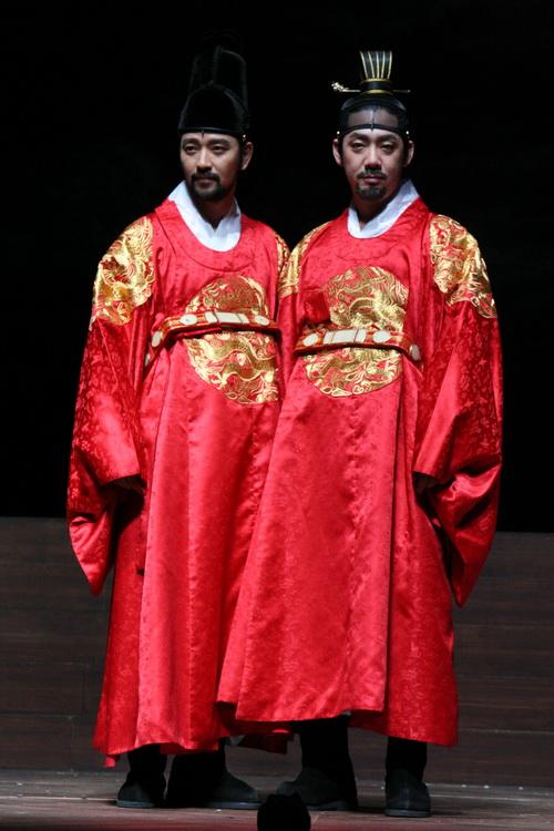 광해, 왕이 된 남자 배수빈과 김도현의 포토타임