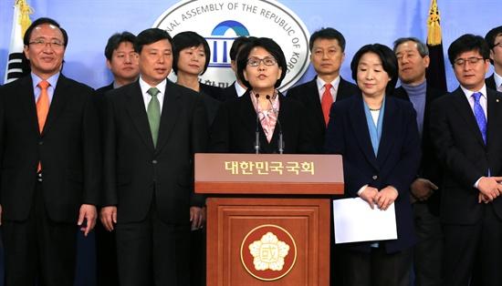 노회찬 부인 김지선씨 노원병 보선 출마 선언