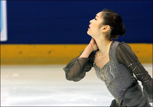 <ISU 세계 피겨스케이팅선수권대회>에 출전한 김연아