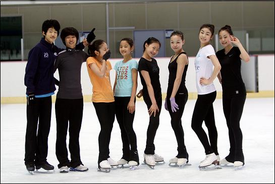 피겨여왕 김연아와 대한민국 대표 피겨 스케이터들
