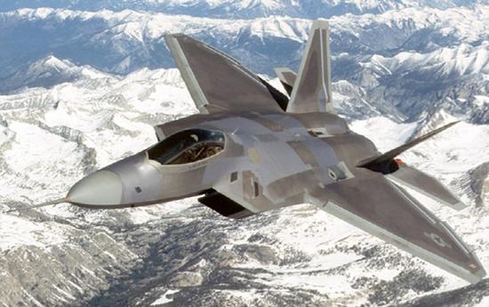 F-22 스텔스 전투기 지난 달 31일 오산공군기지에 전개된 F-22 스텔스 전투기