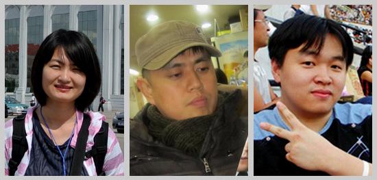 <나는 시민기자다>의 저자, 신정임, 윤찬영, 양형석 시민기자.