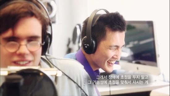 김치국 교수는 버클리 음대에서 자신처럼 시각장애를 갖고 있는 학생들을 가르치고 있다.