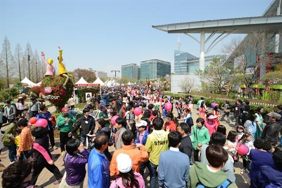 27일, 고양국제꽃박람회가 열렸다.