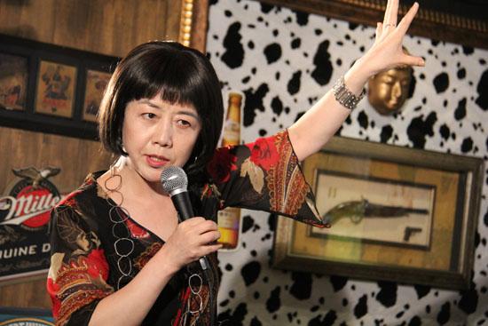 재미있는재단 주관 '재미있는 이야기 전' 9번째 주인공인 영화평론가 유지나씨