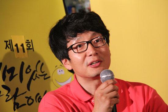 재미있는재단 주관 '재미있는 사람이야기전' 11번째 주인공인 김강덕 애니메이션 <빼꼼> 제작자