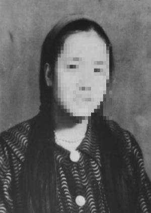 이덕희(가명) 할머니의 어린 시절 사진