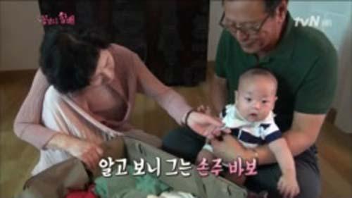 대기업 총수 전문 배우 박근형 할배는 알고 보니 손주바보였다