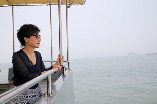 박근혜 대통령이 경남 거제시 장목면의 섬 '저도'를 찾아 여름 휴가를 즐기고 있다.