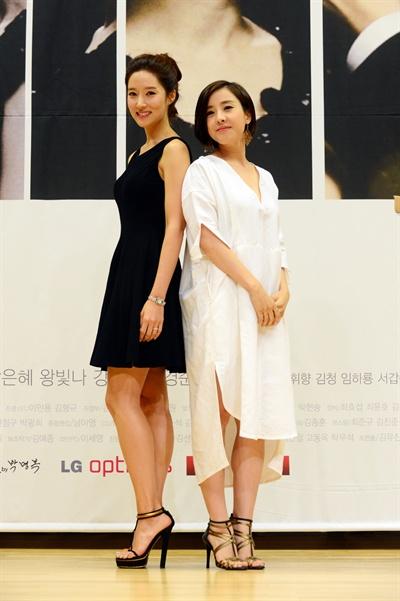 SBS 아침드라마 <두 여자의 방>의 왕빛나, 박은혜