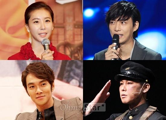 SBS <정글의 법칙 in 사바나>에 합류한 배우 한은정·김원준·정태우·이규한(왼쪽 위부터 시계방향)