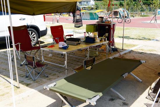 휴식 최근 인기를 얻고 있는 캠핑.