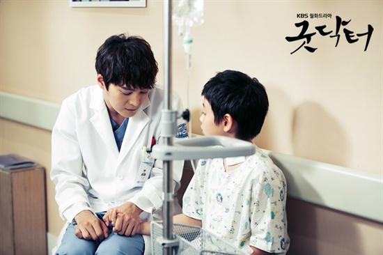 지난 3일 방송된 KBS 2TV 월화드라마 <굿닥터>의 한 장면.