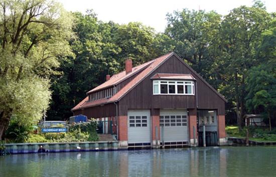 베를린 낚시국(Fischereiamt) 모습.