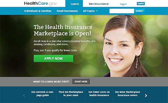 미국 연방정부가 폐쇄됐지만 버락 오바마 미국 대통령의 건강보험개혁(오바마케어)의 핵심인 '건강보험거래소'가 1일(현지시간) 예정대로 론칭됐다.