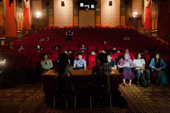 올해로 2회째를 맞은 FLY 2013 행사 현장. 21일 오전에는 태국 후아힌의 한 극장에서 민용근 감독의 영화 <혜화, 동> 상영회가 있었다.