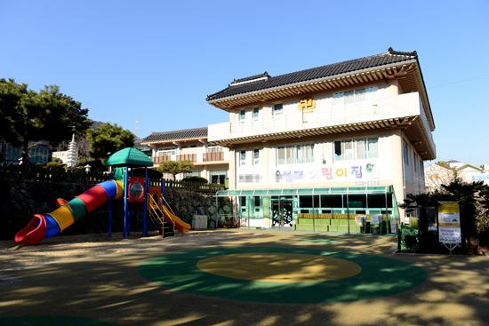 어린이집 거제 한 사찰에서 운영하는 어린이집.