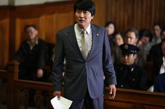 영화 <변호인>의 한 장면.