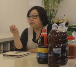 하얀술을 개발한 이정희 교수
