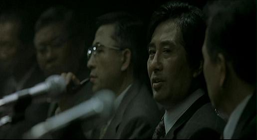 김 부장은 긴급 국무회의에서 엊그제 글라이스틴을 만났다고 말한다