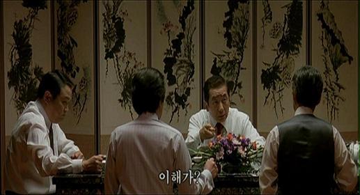 각하는 궁정동 연회에서 참석자들에게 핵무기를 가져야 한다고 말한다.