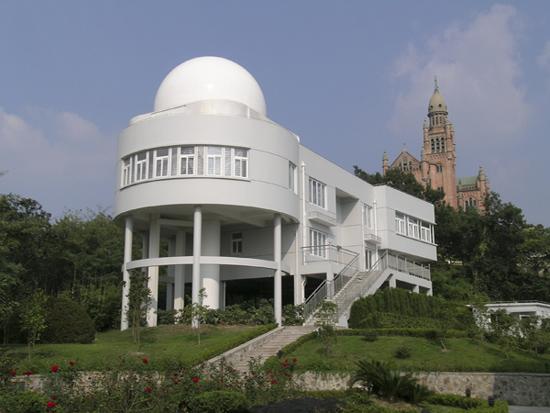 27일에 <별에서 온 그대> 관련 행사가 진행될 중국 상하이의 서산 천문대.