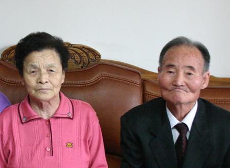 전해산 의병장 아들 전진규 씨와 며느리 양복례 씨