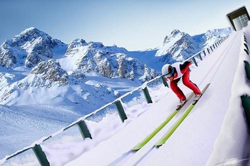 지구온난화가 지속되면 눈의 양과 질이 나빠져 스키 점프 같은 실외 경기가 동계올림픽에서 사라질 수 있다는 전망이 나오고 있다.