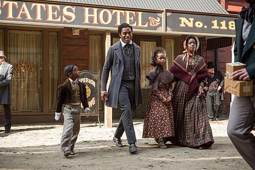 영화 <노예 12년>의 한 장면. 자유인 솔로몬 노섭.