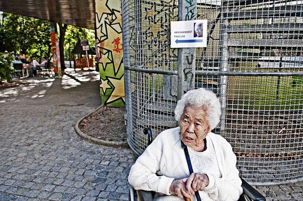 일본 위안부 피해자 이옥선 할머니