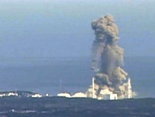 후쿠시마 제1핵발전소 3호기 폭발 장면