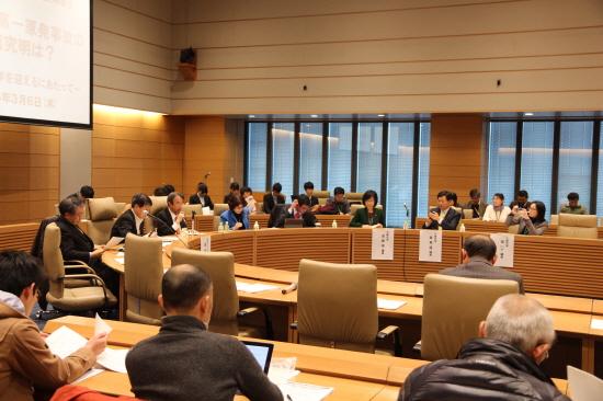 지난 6일 일본 의회에서 열린 '후쿠시마 핵발전소 사고의 원인 지진인가, 쓰나미인가?' 토론회