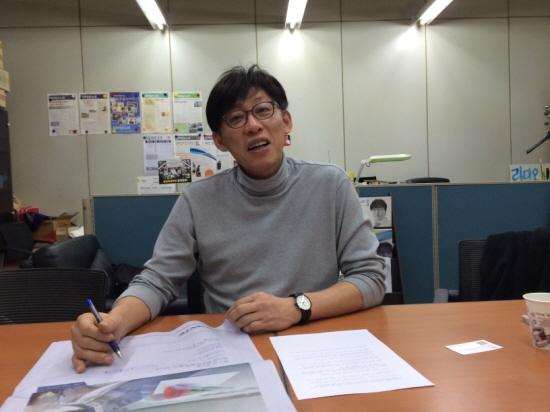 정영하 전 MBC 노조 위원장