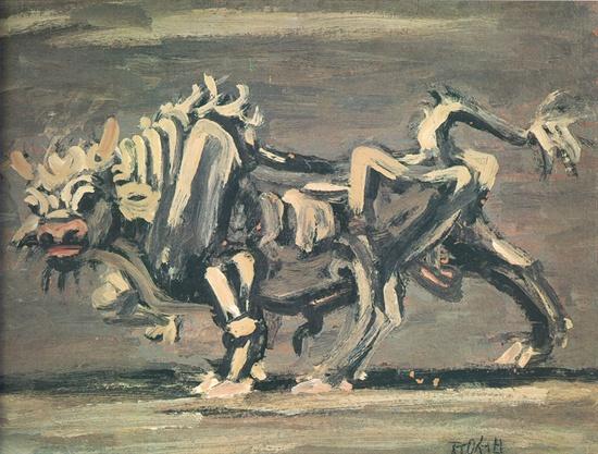 이중섭의 <흰 소>(1954)