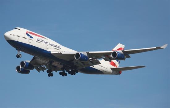 영국항공의 보잉 747-400