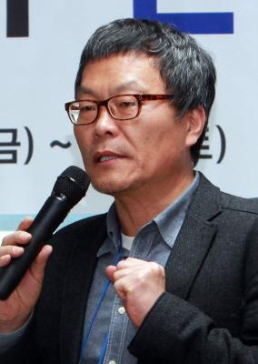 전국 언론노조 강성남 위원장