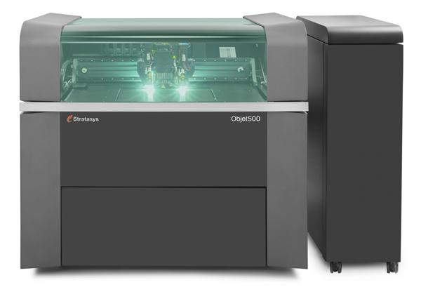 스트라타시스 컬러3D프린터 오브젯500 코넥스3'  '오브젯500 코넥스3'는 자동차, 소비재 및 스포츠와  패션에 다양하게 응용될 수 있다.
