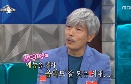 21일 방영된 mbc <라디오스타>에 출연한 배철수.