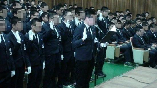 마산제일고등학교 학생들
