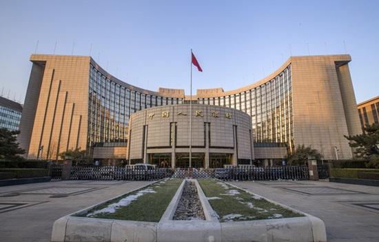 중국 국책은행인 런민은행 본관 중국의 국책은행은 '중국은행'이 아닌 런민은행이다. 사진은 런민은행 본관사진