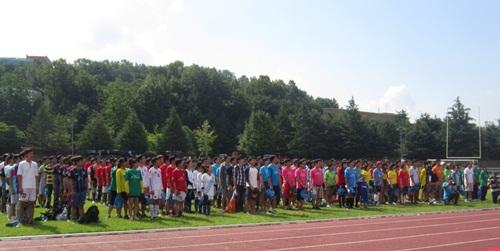 개막식 전국 베트남 유학생 축구대회