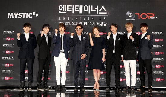 Mnet <엔터테이너스>의 출연진