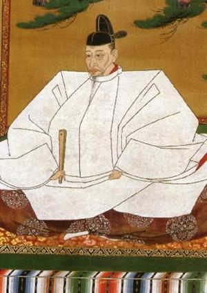 도요토미 히데요시의 초상화.