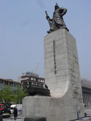광화문 이순신 장군 동상