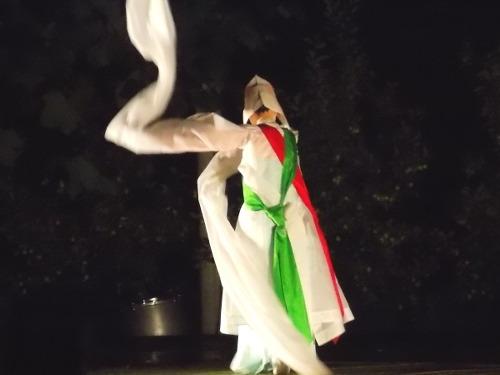 조갑녀류 승무 작품명 '조갑녀류 승무'. 서정숙이 춘 춤이다. 여성 공연자가 춘 승무를 오랜만에 보게 됐다.