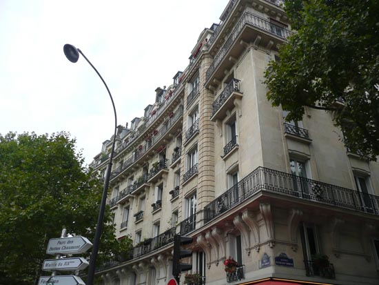 파리 아파트 전경