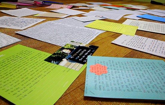 소년원 아이들이 천종호 판사에게 보내온 편지.
