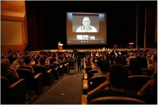 2013년 코엑스에서 열린 바가반 컨퍼런스 모습
