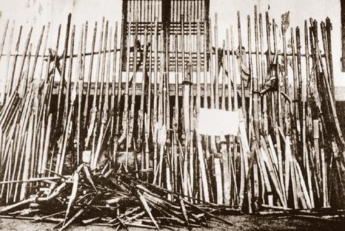 의병들이 사용했던 화승총들