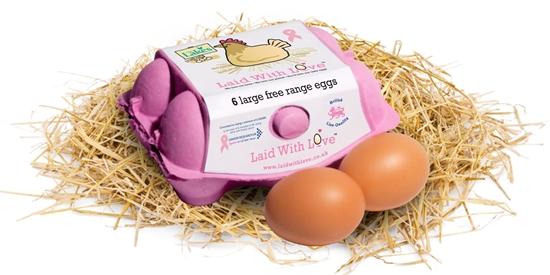 영국 방사 사육(Free range) 달걀 제품 유럽은 케이지 사육으로 생산된 달걀은eggs from caged hens, 실내 평사 사육으로 생산된 달걀은 Barn eggs, 닭이 야외 방사 시설을 이용할 수 있도록 한 달걀에는 Free range라고 표기해야 한다.